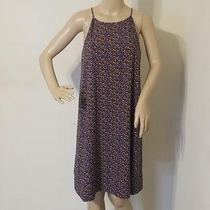 NWOT New York &Company Multi Colored Halter Dress